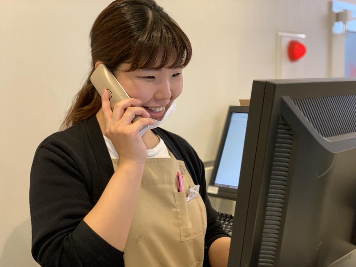 研修所 | 電話対応 | 高品質で安いネイルサロンABCネイル 研修所